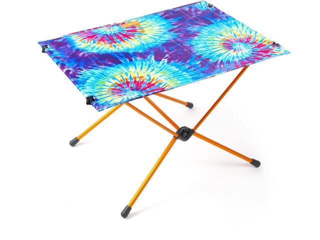 Helinox Table One Tapa Dura L, tie dye/orange